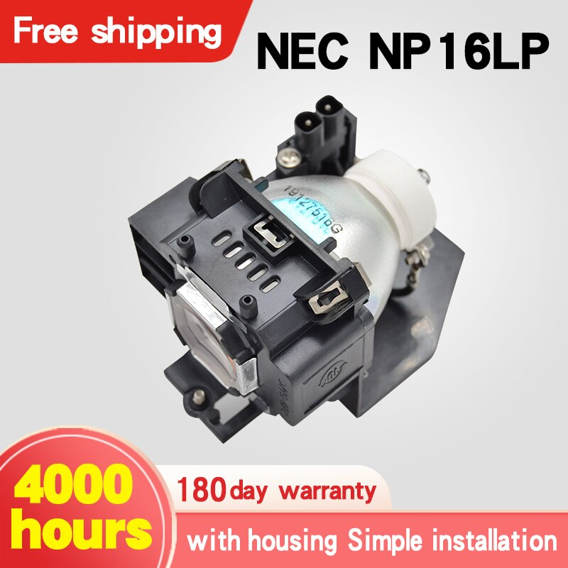 NP16LP NT-16LP для NEC UM280W UM280X M260WS M300W M300XS M350X Лампа для проектора с корпусом