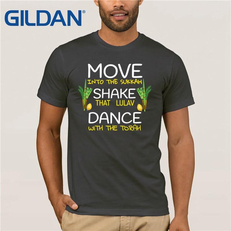 Sukkot Sukkah, camiseta fresca de danza de cuatro especies con la Torá judía