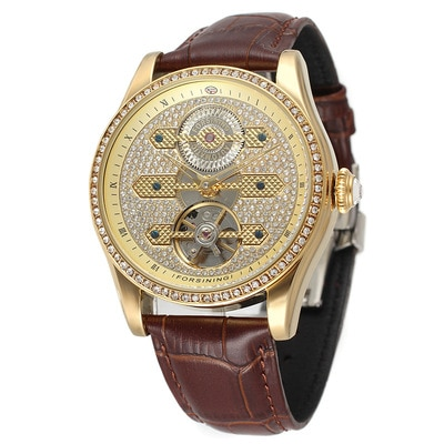 Automatic Mechanical Watch For Men Trendy Watch Fashion Business Temperament Personality European And American Style 2021 New