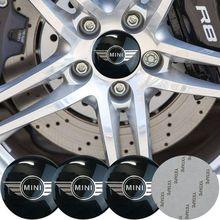 4pc 56mm Car sticker tire Wheel Center Decoration for r56 r50 f56 r60 r53 F54 F55 F57 F60 jcw access