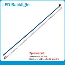 ل LCD-40V3A M00078 N31A51P0A N31A51POA V400HJ6-LE8 جديد LED الخلفية V400HJ6-ME2-TREM1 1 قطعة = 49 سنتيمتر (490 مللي متر) 52LED