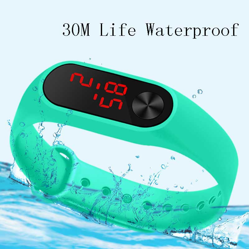 Hot Sell Children Watch LED Digital Watches Kids Wristwatch LED Electronic Watches Student Electroni