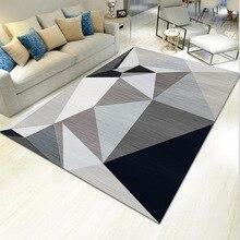 Modern geometric simplicity art carpet for living room bedroom non slip floor mat fashion kitchen area rugs customizable