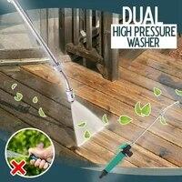 2in1 high pressure power water gun jet car cleaning gun hose wand nozzle sprayer watering spray sprinkler cleaning tool