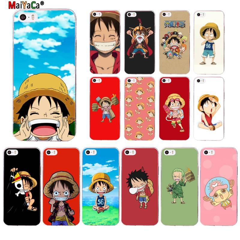 MaiYaCa una pieza Japón Anime Coque funda para teléfono para iphone SE 2020 11 pro XS MAX 8 7 6 6S Plus X 5 5S SE XR cubierta