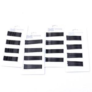5CM 32PCS / Set 6CM 28PCS / Set Black Word Clip Hairpin Paint Wavy Arc Straight Hairpin Set Hairpin Hair Accessories