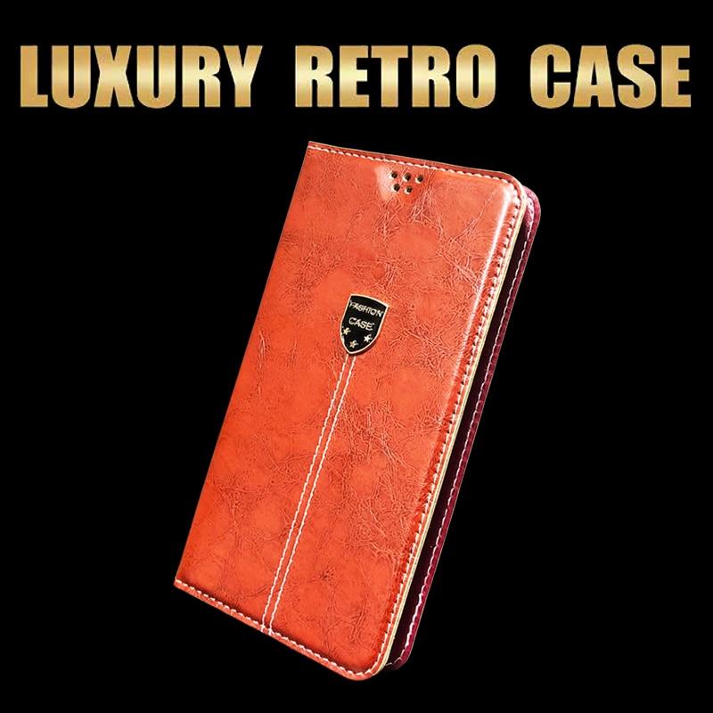 Luxury Retro Flip Leather Wallet Phone Case For Sharp Aquos S2 S 2 S3 MIni S3Mini Book Case Cover For Sharp S2 S3 Mini Fundas