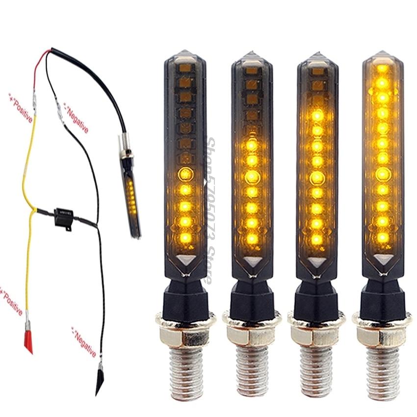 E-mark, funda LED para motocicleta Cb600F, accesorios de Hornet Adventure, Yamaha Yzf, Yamaha Pw80, Harley Davidsion, Softail, Honda Pcx