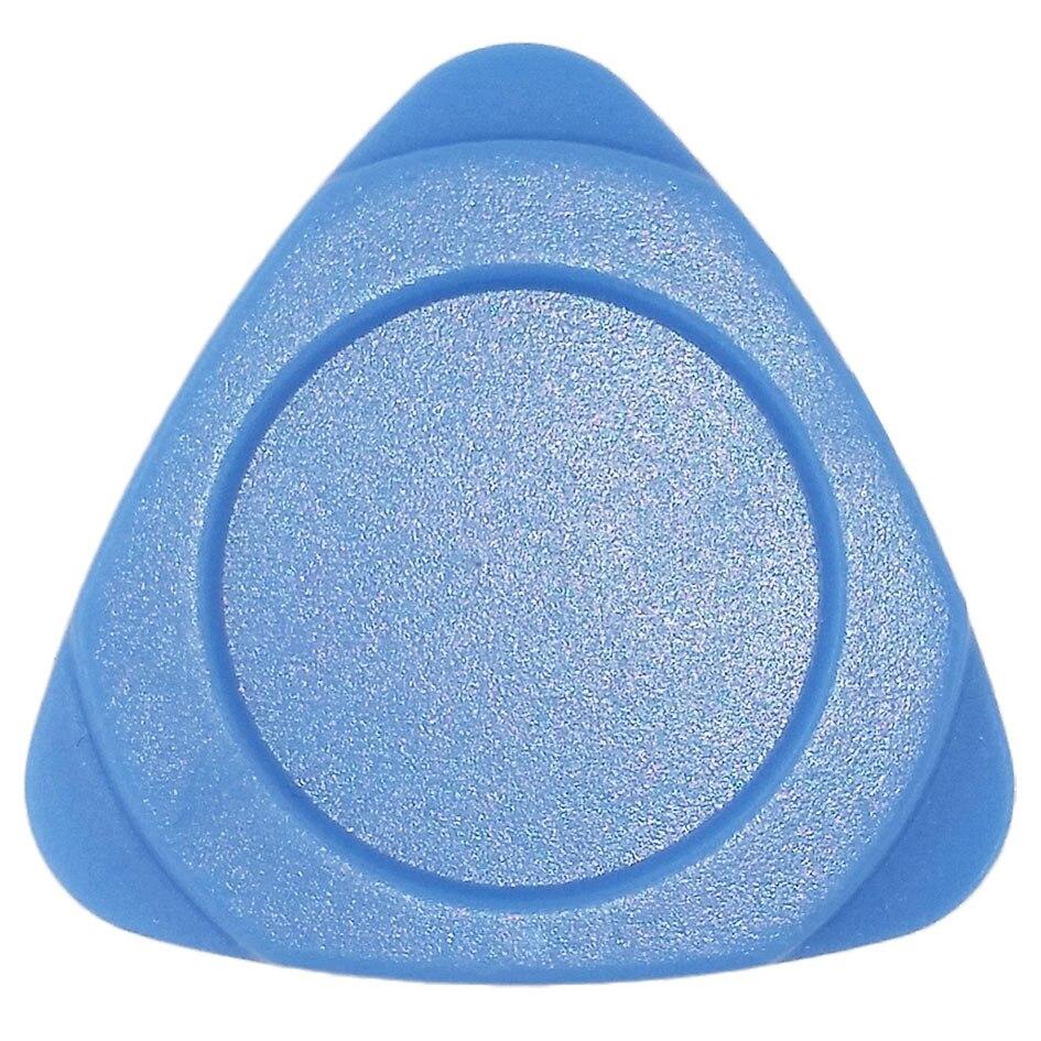 سميكة الأزرق البلاستيك الثلاثي اختيار حدق أداة فتح قذيفة مجموعة أدوات إصلاح الثلاثي لوحة للهاتف المحمول استبدال