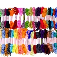 cross stitch thread mix colors cross stitch cotton sewing skeins embroidery thread floss kit for diy sewing tools accessories