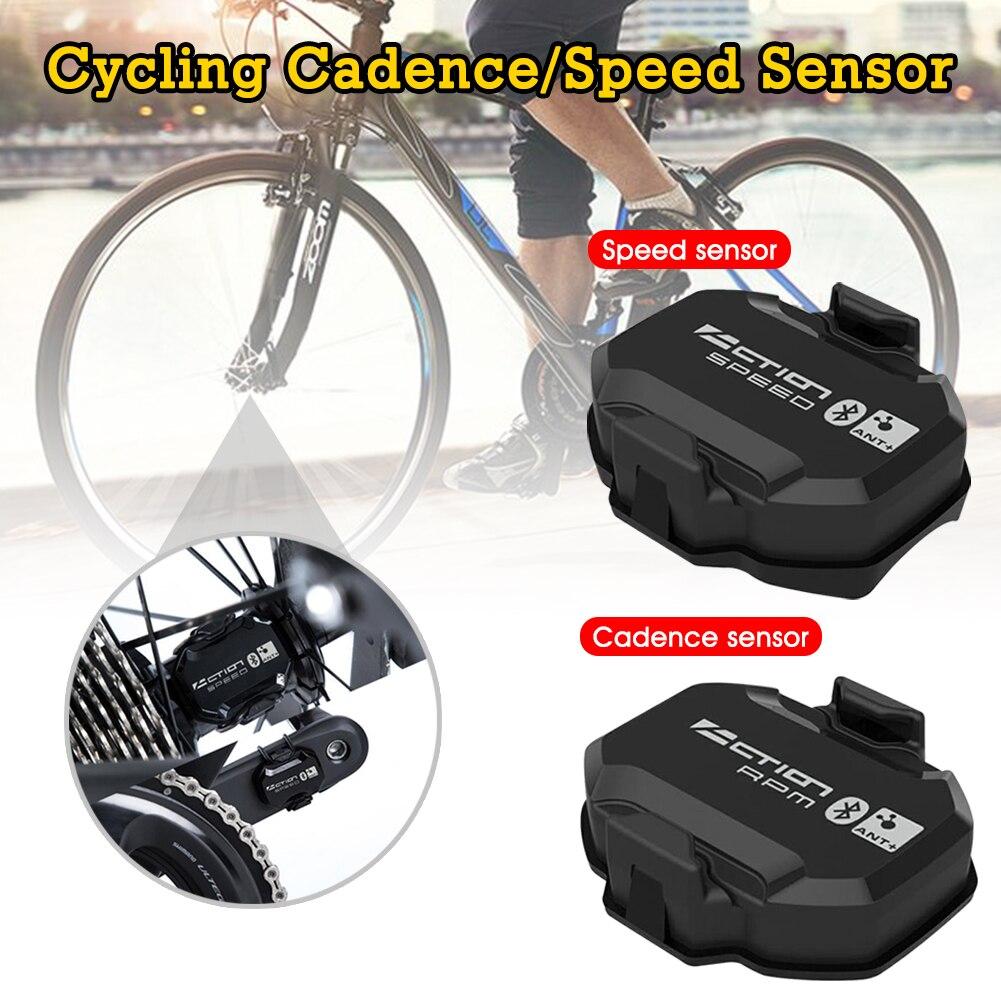 Bike RPM Speed/Cadence Sensor IP68 Waterproof Bluetooth4.0/ANT+ Cycling Cadence Speed Sensor Drop shipping