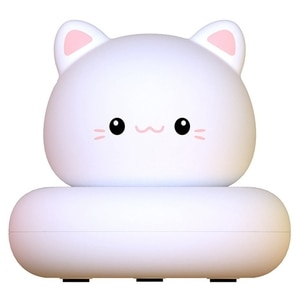 Kids Baby Night Light USB Rechargeable, Tap Control, Cat Design, Cute Gift for Baby,Girls,Boys Cartoon Kid Room Decor