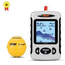 Lucky FFW718 & FFW718LA détecteur de poisson Portable sans fil 45M/135FT Sonar profondeur sondeur alarme océan rivière lac
