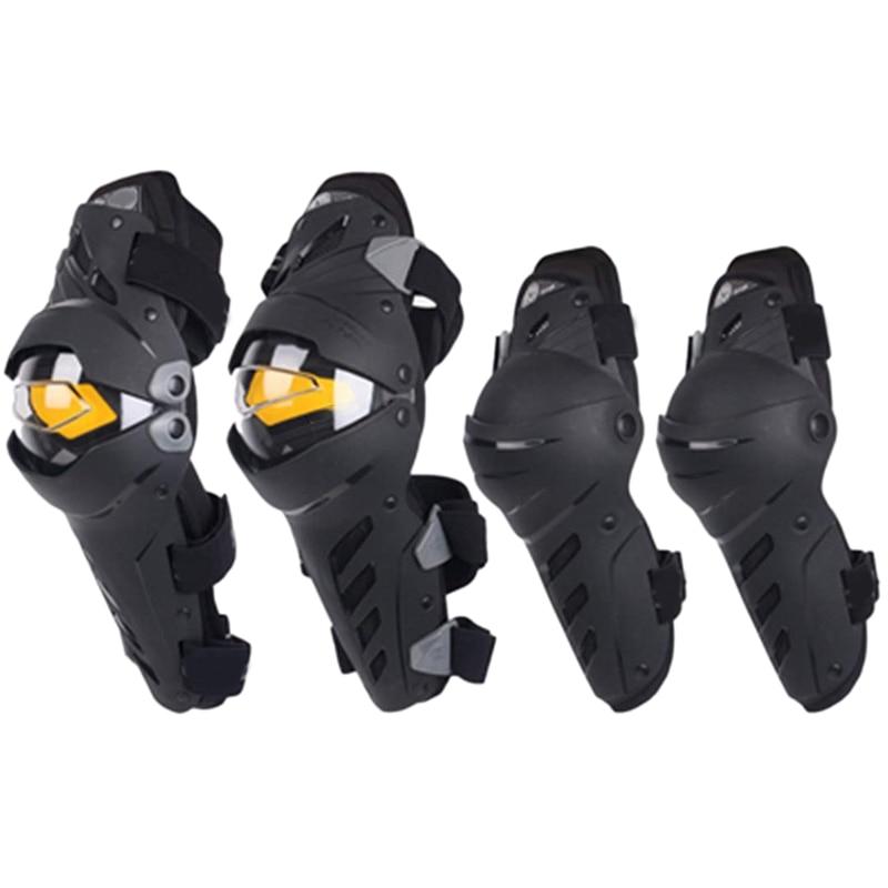 Rodillera combinada de codo de rodilla para motocicleta para hombre Protector deportivo Protector de Motocross