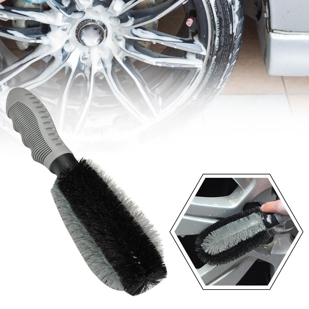 Изношенные шины и колеса кисть для уборки машины комплект Вымойте инструмент кисть с подробным описанием обод для шины кисточки авто аксес...