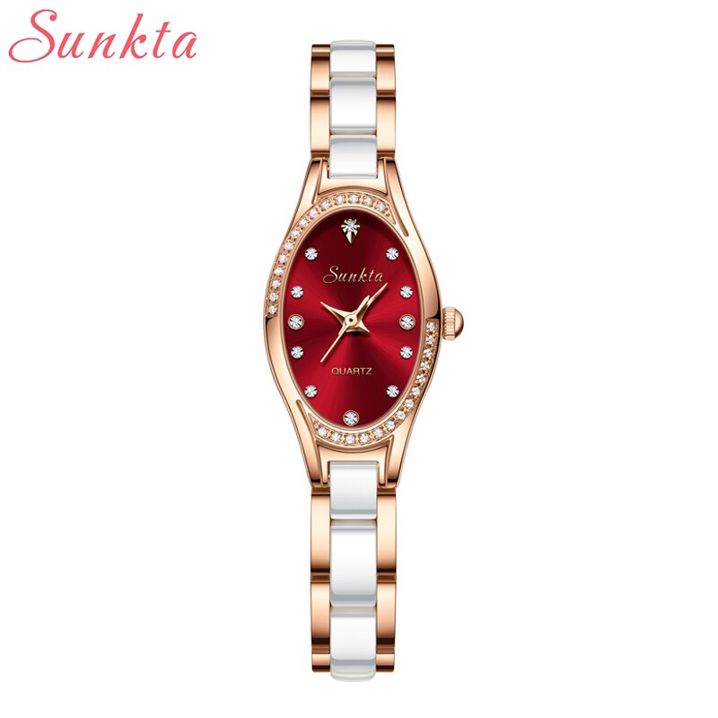 LIGE Sunkta Watches Women Fashion Watch Luxury Stainless Steel Waterproof Female Clock Ladies Quartz Wristwatch Relogio Feminino enlarge