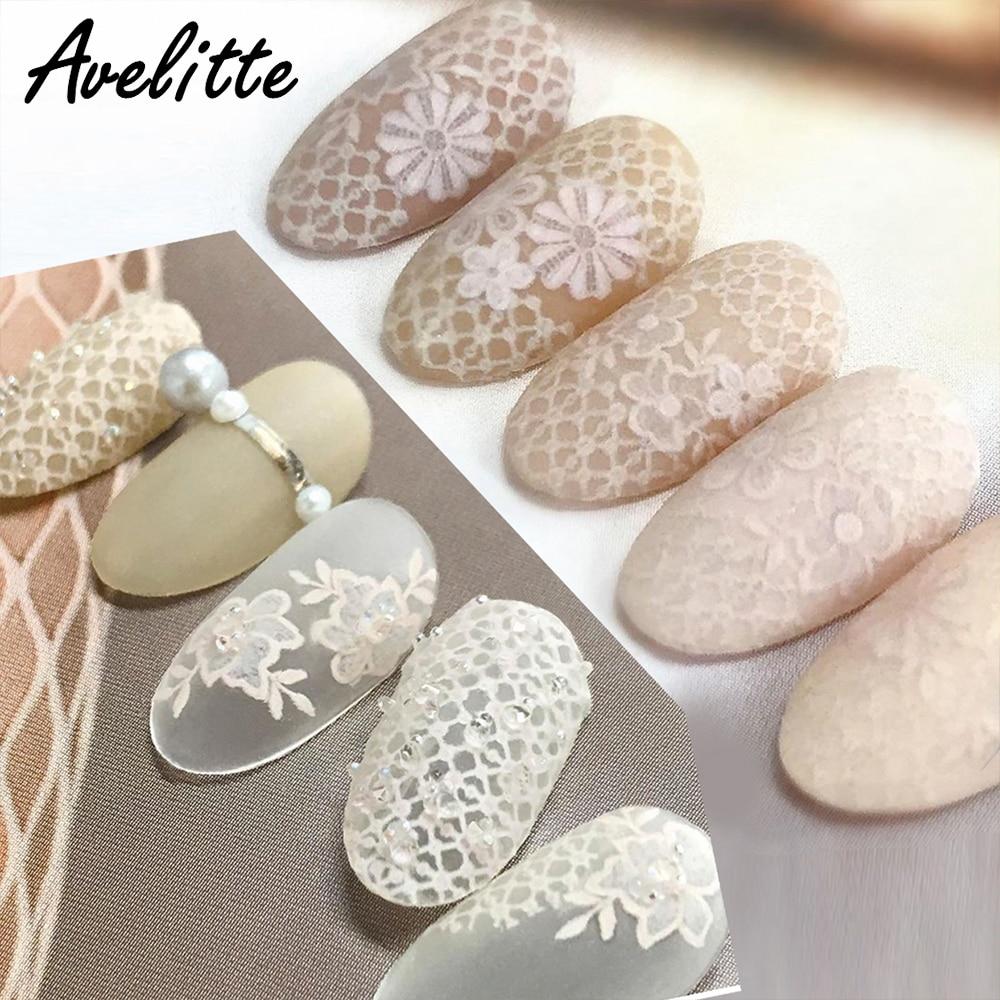 Avelitte pegatina adorno de uñas adhesivo Calcomanía para manicura hoja de flor seca pegatina de uñas DIY impermeable
