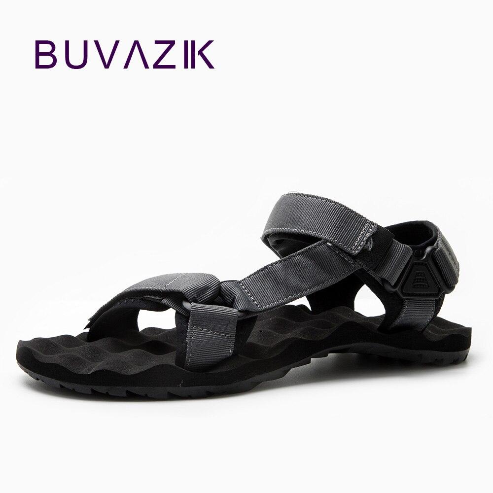 BUVAZIK-صندل EVA مضاد للماء للرجال ، أحذية صيفية غير رسمية ، أحذية قماشية ، مقاومة للاهتراء ، 2018