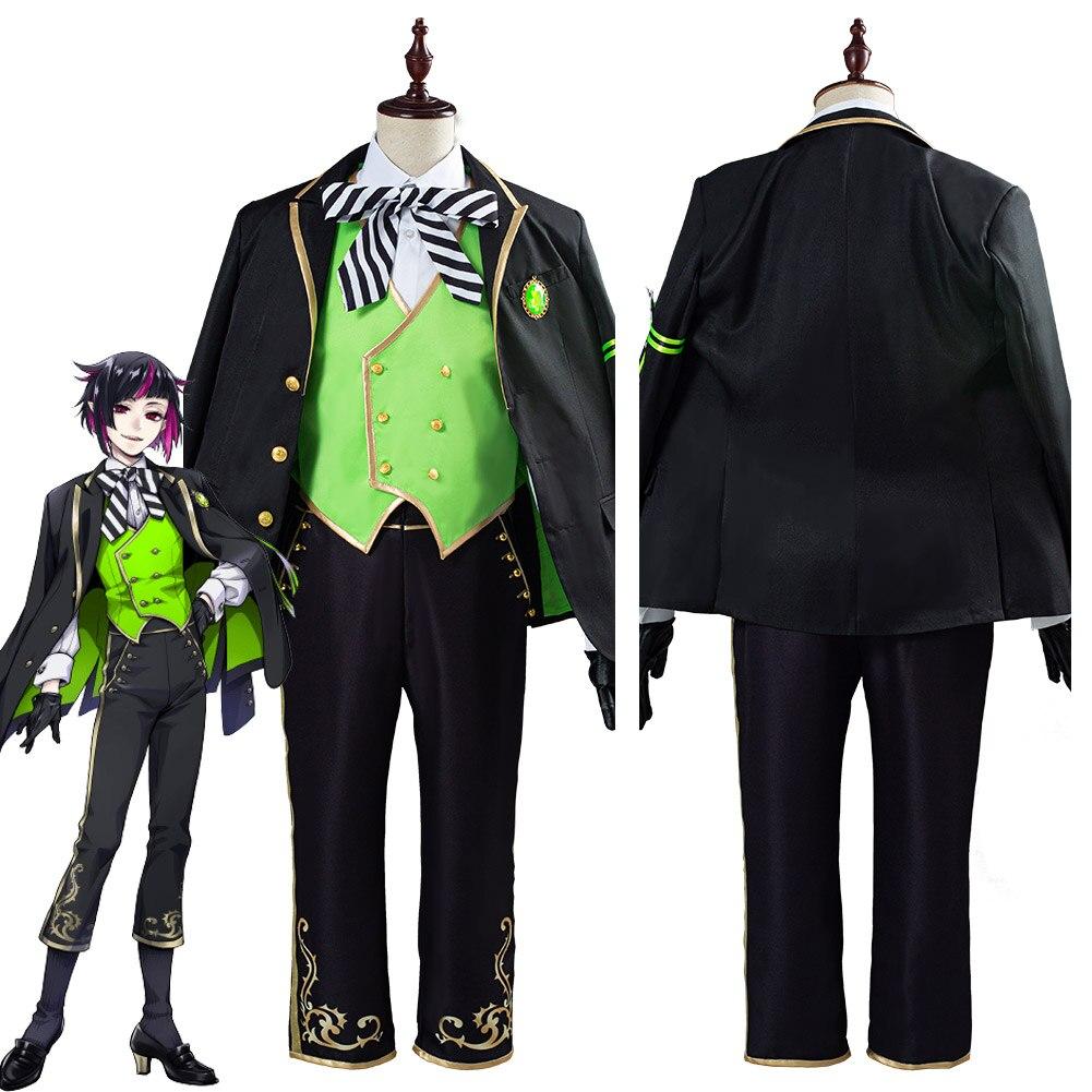 Twisted wonderland lilia vanrouge cosplay traje halloween carnaval uniforme