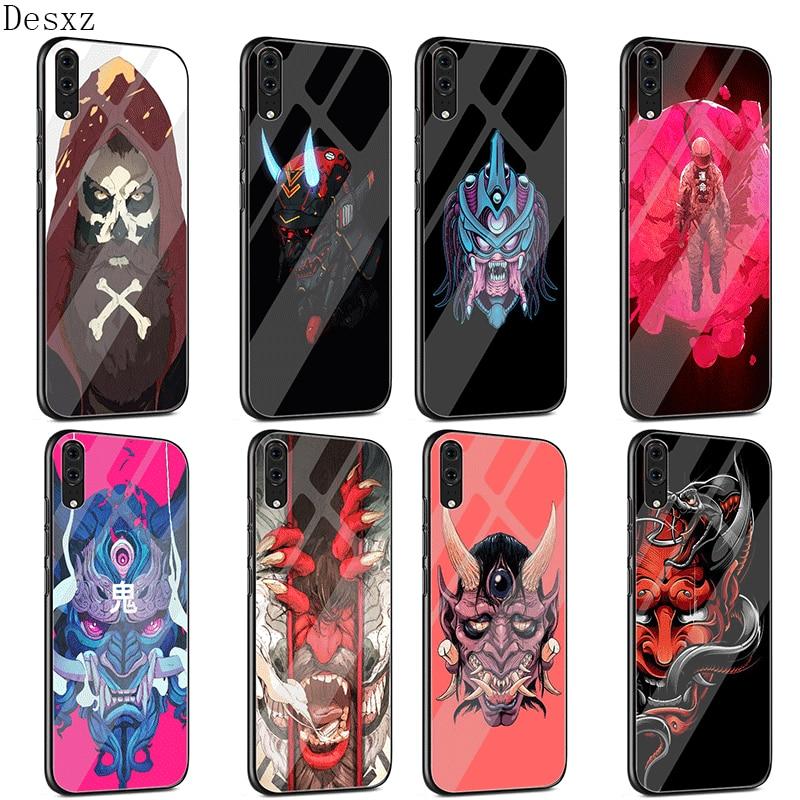Przypadku telefonu szkło TPU dla Huawei P10 P20 P30 Lite Pro P inteligentny Mate 10 20 Lite Y6 Y9 Honor 7A 8X9 10 pokrywa Oni maska powłoki