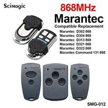 Marantec pilot do drzwi garażowych klon 868 MHz 433mhz Marantec komenda brama mechanizm otwierania drzwi nadajnik brelok