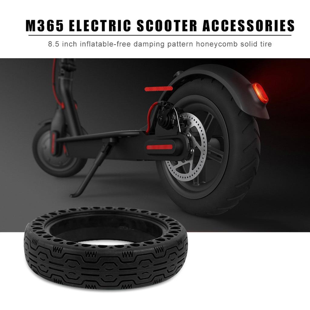 Neumáticos sólidos antiexplosiones para patinete eléctrico Mijia M365, de Xiaomi, 1 unidad, 2 uds., accesorio de pieza de repuesto de 8,0 8,5 pulgadas # N