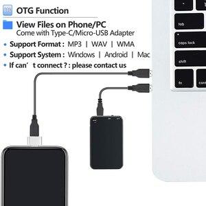 Image 4 - V15 300 мА/ч, USB Флэш Накопитель SSD на 64 цифровой голосовой записи супер тонкий мини тела 50H непрерывной диктофон аудио Запись устройства