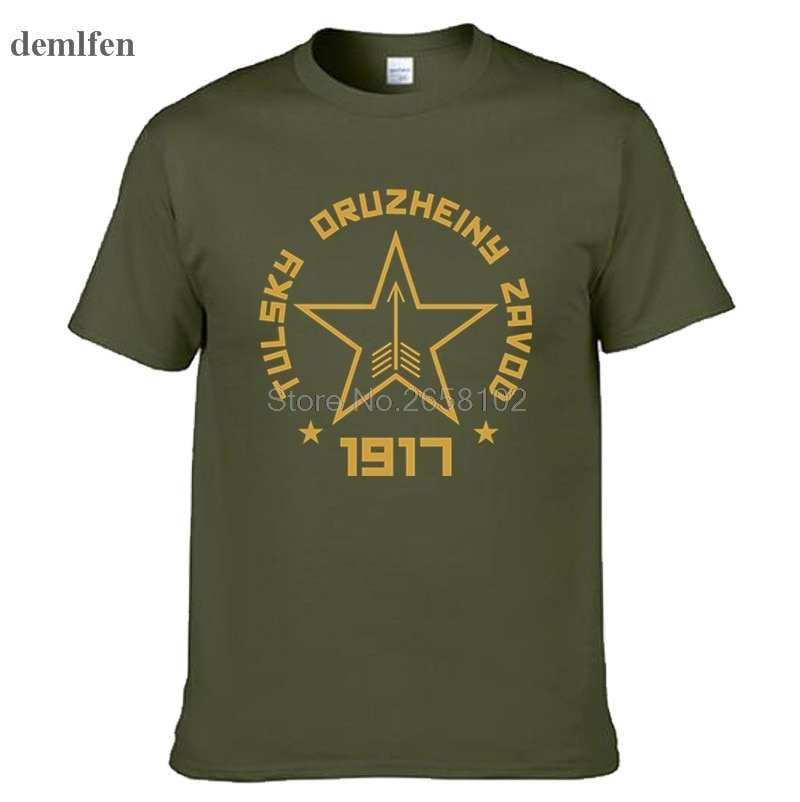 Ruso soviético AK-47 Tee mosin nagant Rifle francotirador camisetas de moda para hombre Camiseta de algodón camisetas Tops