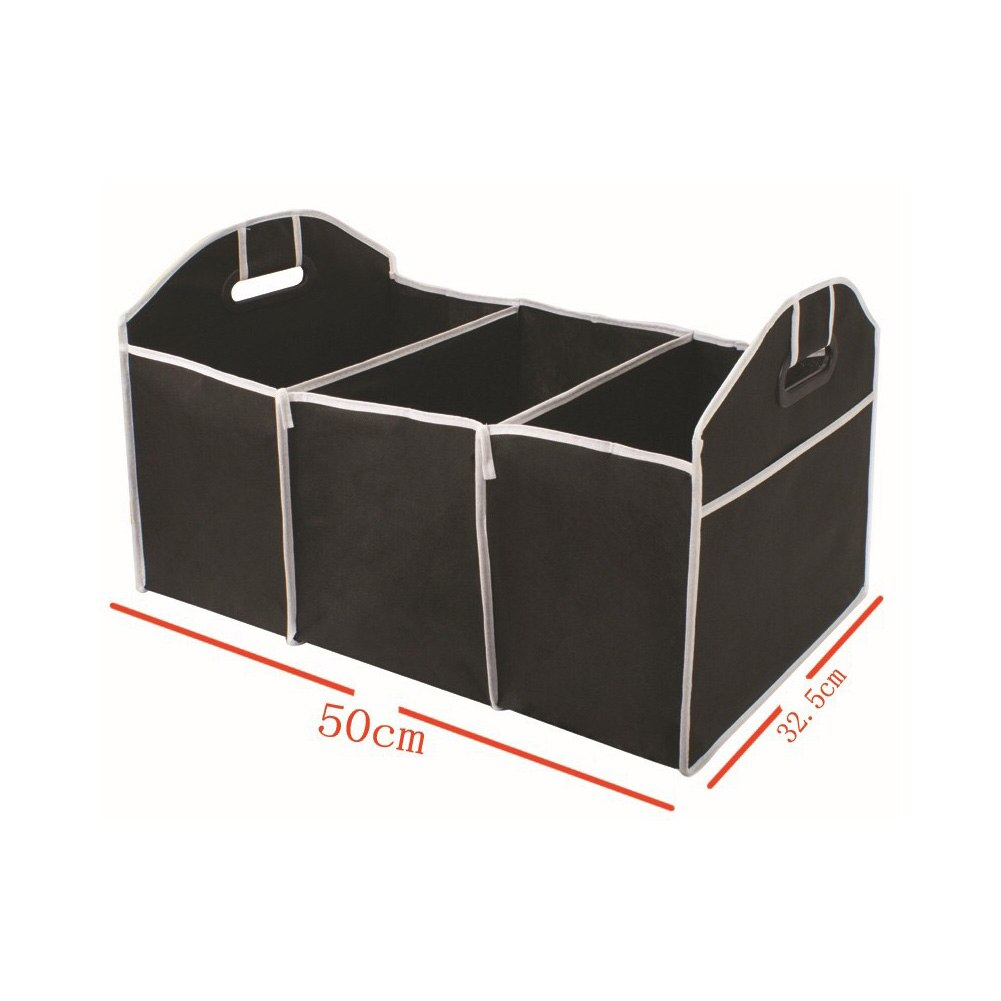 AliExpress - Car Trunk Organizer Foldable Storage Box with Handle Car Rear Trunk Folding Cube Multifunctional 40L Cargo Storage Organizer