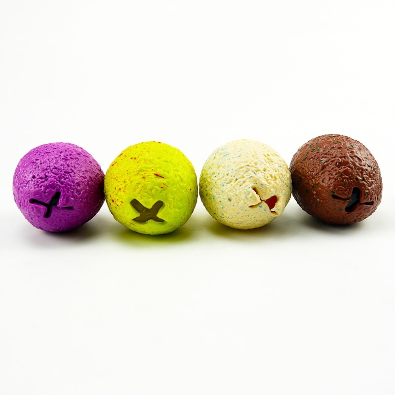 3 Pc/Set Surprise TPR Dinosaur Decompression Hatching Eggs Anti Stress Grape Ball Squeeze Relief Vent Pinch Toy Kids Gift 2021 enlarge