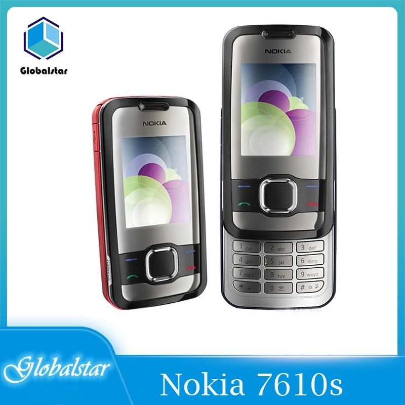 Nokia 7610s Refurbished original Unlocked Slide Nokia 7610 Supernova Mobile phone 7610S cell phone w