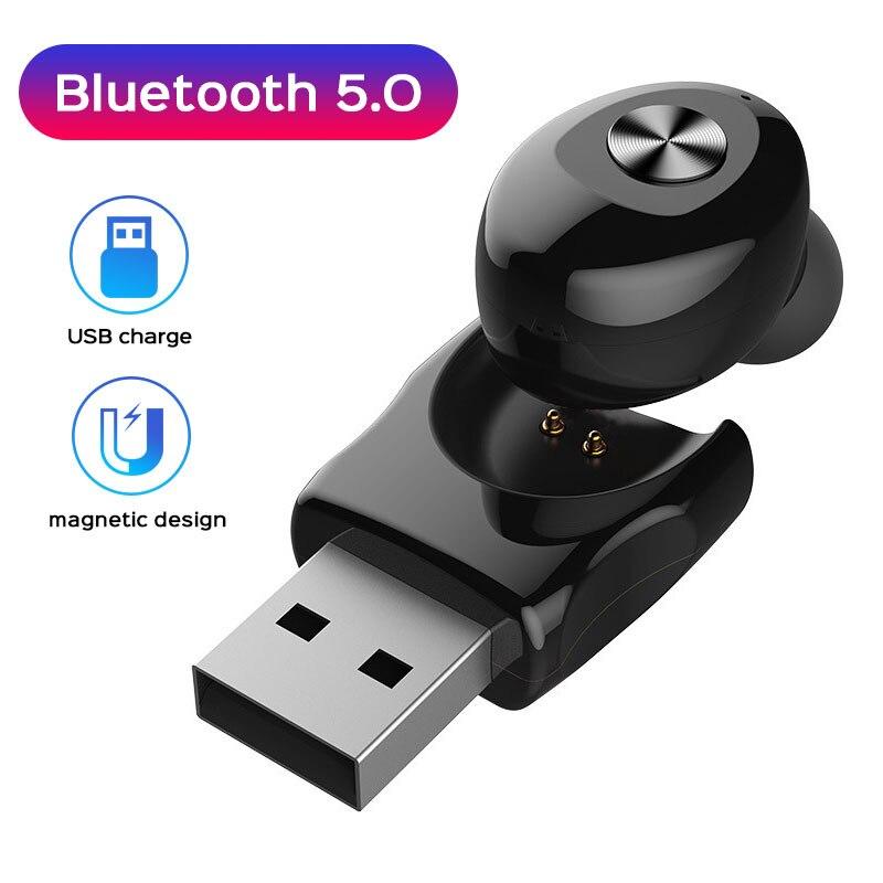 Auriculares inalámbricos con carga USB, Auriculares bluetooth deportivos con graves, auriculares para videojuegos para Redmi Note 9S Umidigi F2