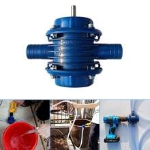 Bleu auto-amorçage Dc pompage auto-amorçage pompe centrifuge ménage petit pompage main perceuse électrique pompe à eau