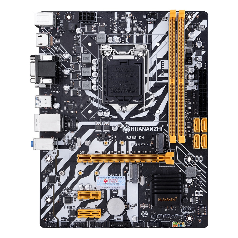 HUANANZHI لوحة أم للكمبيوتر M-ATX القنوات المزدوجة DRR4 32G USB 3.0 متر. 2 NVME/NGFF سطح المكتب اللوحة الرئيسية ل LGA 1151 6/7/8/9 وحدة المعالجة المركزية