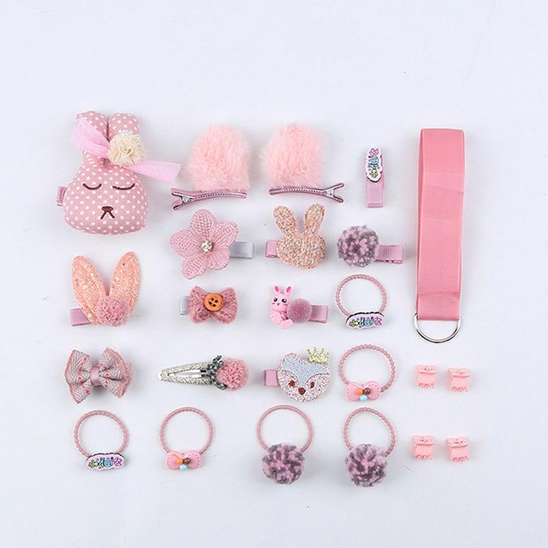 18/24 buc / set set de agrafe pentru copii, agrafe pentru flori din - Accesorii pentru haine - Fotografie 3