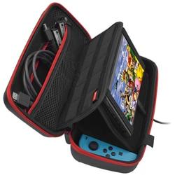 Nintendoswitch acessórios saco de transporte grande nintend interruptor caso protetor paly suporte ns capa para nintendo interruptor acessórios