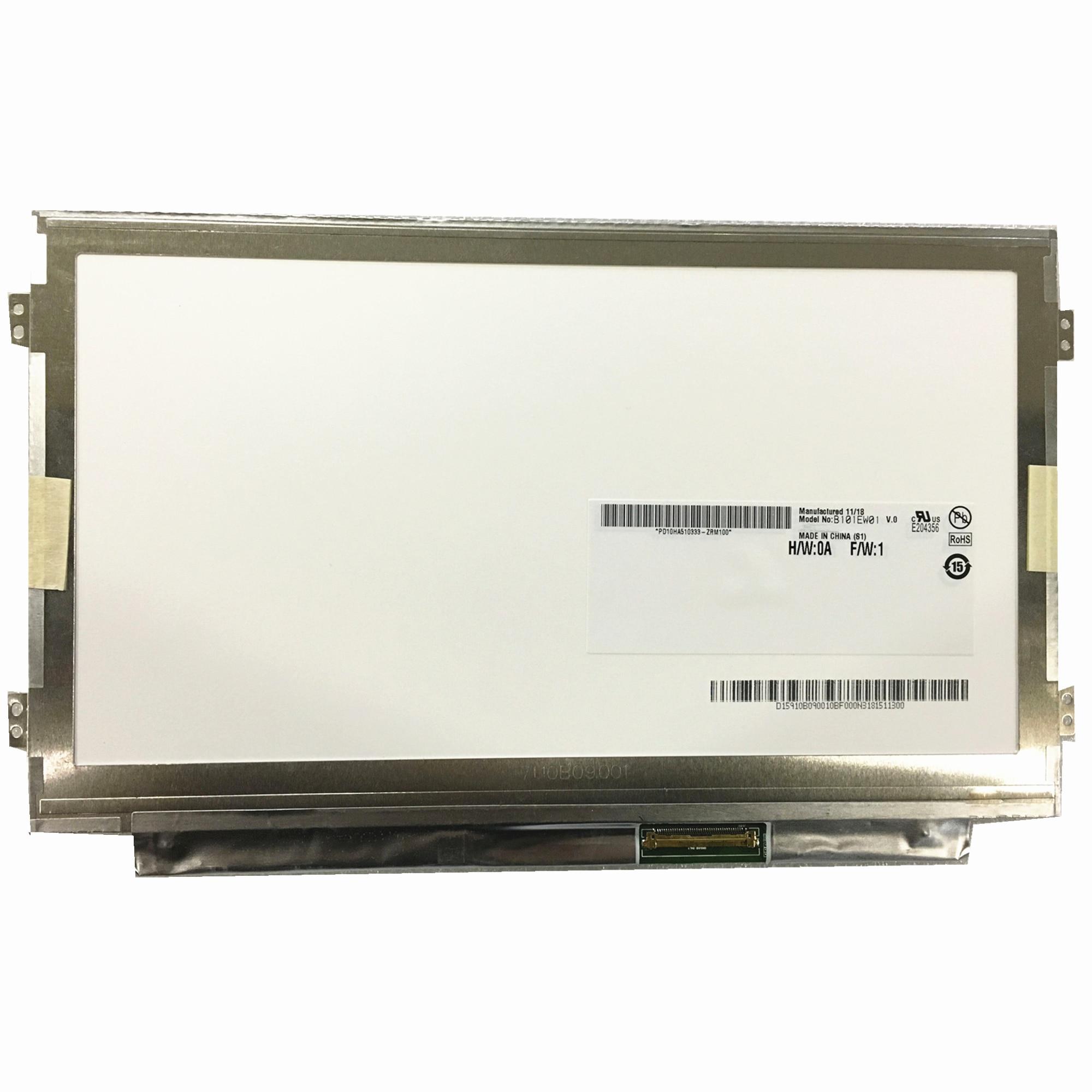"""Envío Gratis B101EW01 V.0 V.1 V.2 LCD pantalla LED de pantalla 10,1 """"para Lenovo IdeaPad S10-3S 1280*720"""