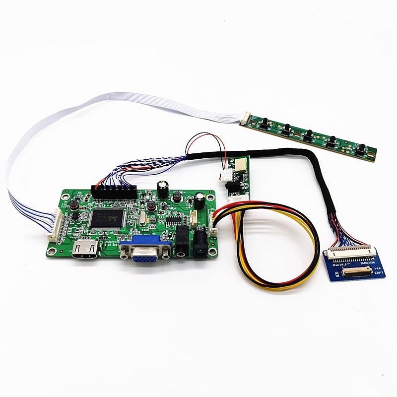 "Novo kit de placa controlador 4k hdmi lvds lcd para ipad 3 4 9.7 ""LP097QX1-SPA1/spa2/spa2/spc1/spc2/spc3 2048x1536 edp painel sinal"
