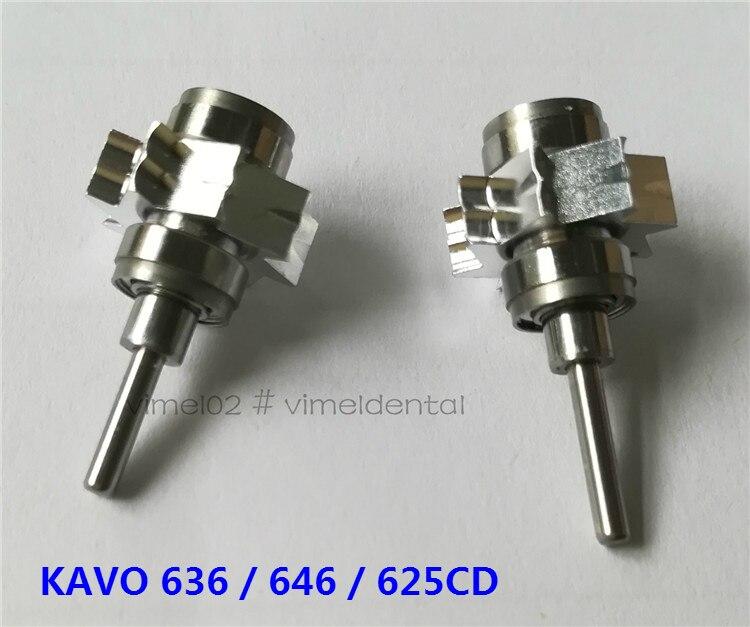 1 pieza de Rotor de aire Universal para Kavo 636/646/625CD piezas de mano de turbina piezas de repuesto para Cartucho