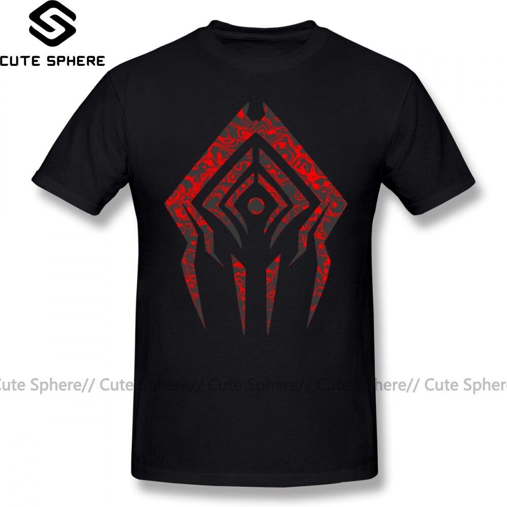 Camiseta Warframe Stalker Sigil Camiseta de manga corta Camiseta Oversize Casual 100 algodón divertida camiseta de Hombre estampado