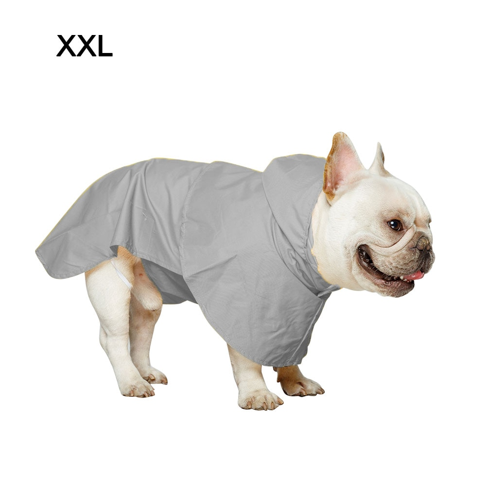 Chubasquero para perro bonito, chaqueta para la lluvia, ropa para mascotas, ropa impermeable para perro, Sudadera con capucha, Poncho para exteriores, chubasquero