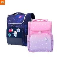 new xiaomi large schoolbag cute student school backpack printed waterproof bagpack primary school book bags for teenage kids