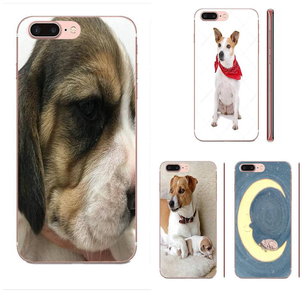 Jack Russel Terrier Custom Pattern Transparent Soft Shell For Huawei Mate 9 10 20 P P8 P9 P10 P20 P30 P40 Lite Pro Smart 2017