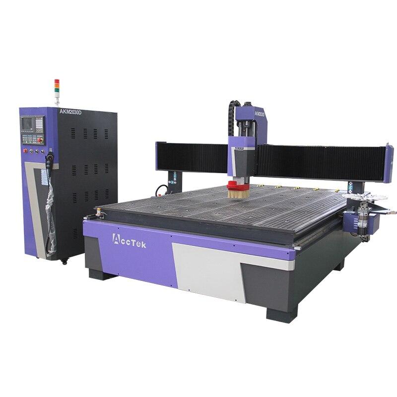 220v automatic cnc programming winding machine Wooden Cnc Lathe Automatic Machine Multifunctional Automatic 2030 Cnc Wood Lathe