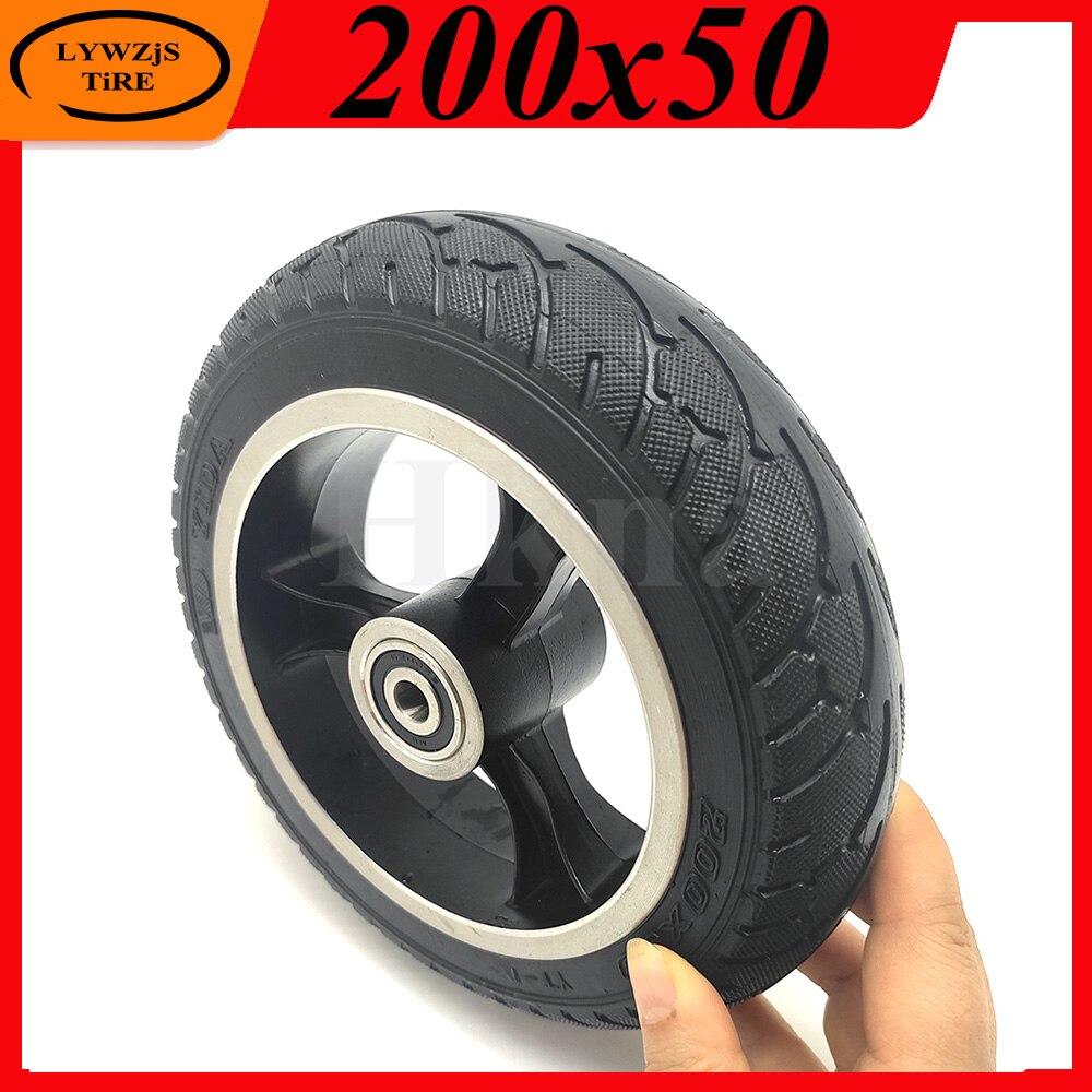 Neumático de rueda sólida a prueba de explosiones para patinete eléctrico, 200x50,...