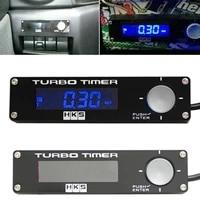 universal electronic dc12v auto turbo timer delay controller kit w led digital display car accessories white red blue