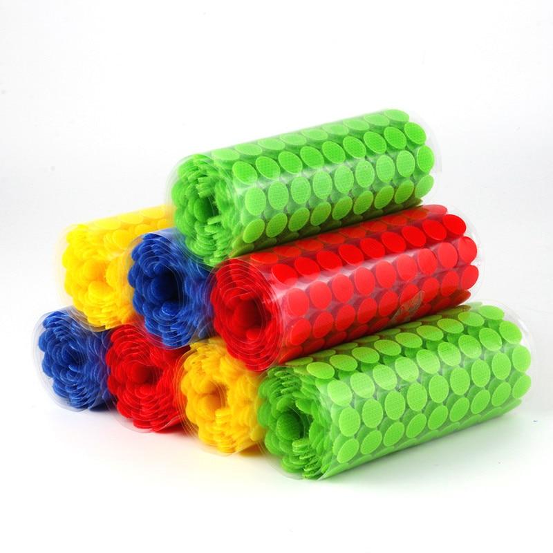 Velcro Adhesivo con Cinta ajustable velcro Adhesivo puntos de Nylon pegajoso gancho...