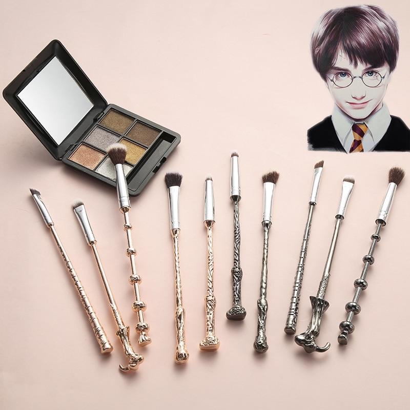 5PCS/Set Harry Makeup Brush Accessories Props Magic Wand Eye Shadow Brush Beauty Comestic Brush Cosmetics Makeup Tools