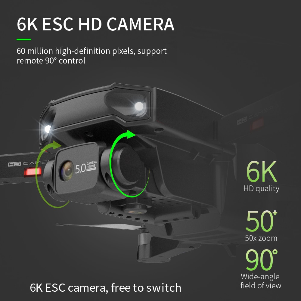RC DRON S1 Drone with Camera 6K GPS Professional HD Recording 4K 5G FPV Brushless Foldable Long Distance Quadcopter Dron PK L900 enlarge