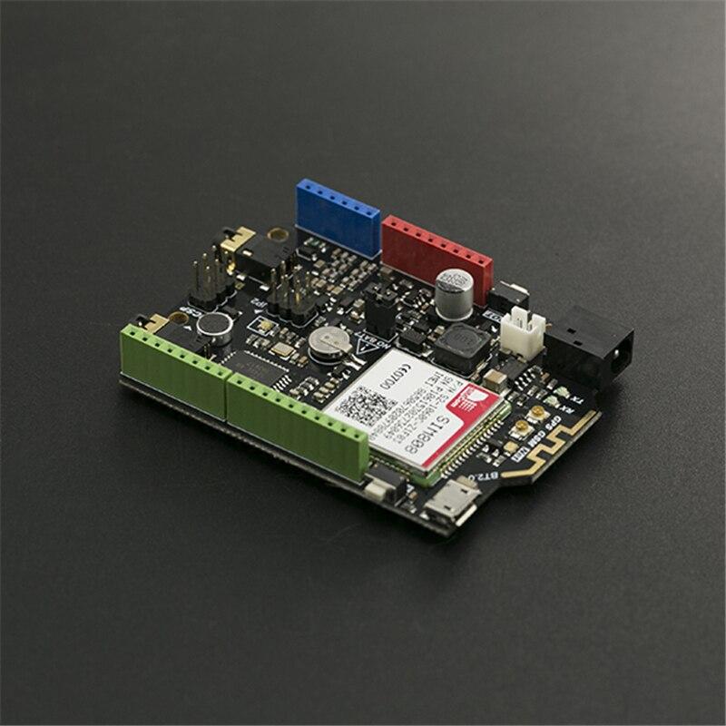 AiSpark SIM808 مع ليوناردو اللوحة الرئيسية اردوينو GSM/جي بي آر إس/وحدة اتصالات لتحديد المواقع